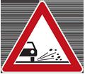 Zeichen Split Schotter