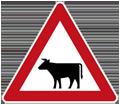 Zeichen Viehbetrieb