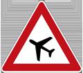 Zeichen Flugbetrieb